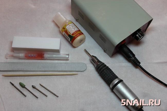 Инструменты для аппаратного маникюра