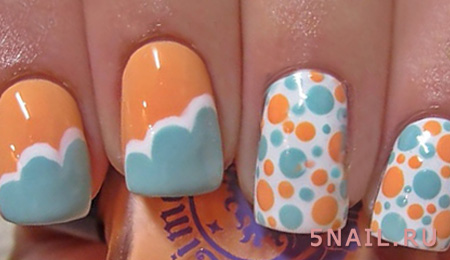 дизайн ногтей на июль