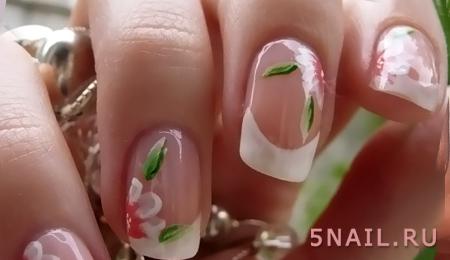 французские ногти