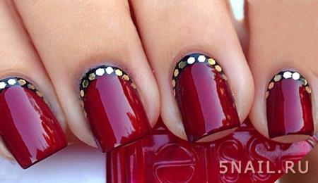 рубиновые ногти