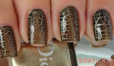 кожа рептилий крек на ногтях