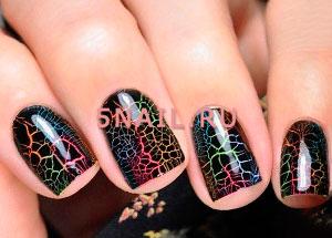кракелюр на ногтях