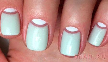 антифренч на ногтях