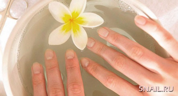 Распаривание рук