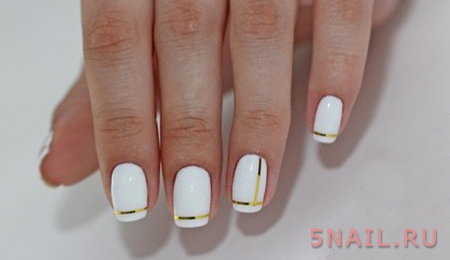выдержанный стиль ногтей