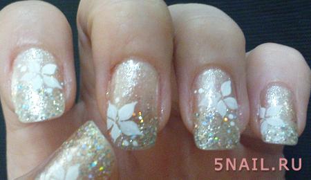 перламутровые ногти