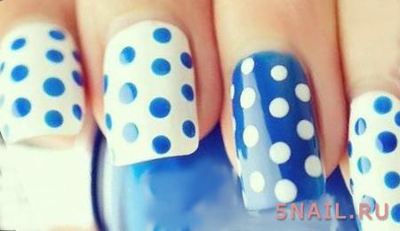 белые крапинки на ногтях