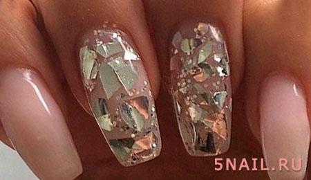 Ваши ноготки будут выглядеть как алмазы