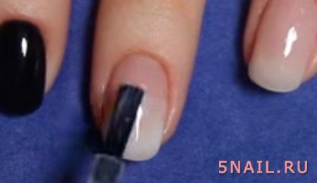 ногти в градиентном стиле