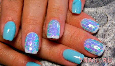 соты на ногтях