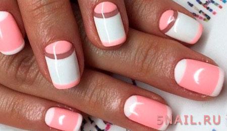 французский дизайн ногтей