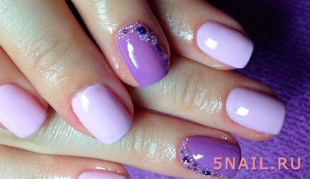 декор шарики на ногтях
