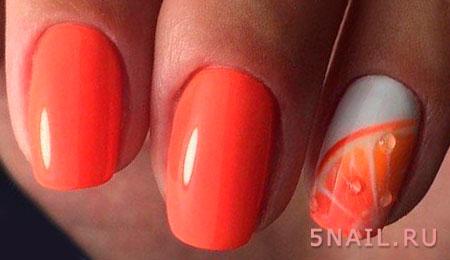 апельсиновый шеллак
