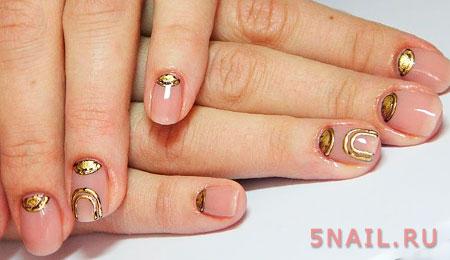 Роскошь драгоценных металлов в технике литья на ногтях