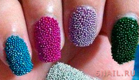 икорные ногти