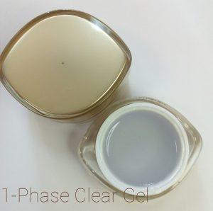 1-Фазный прозрачный гель для наращивания ногтей (15 мл.)