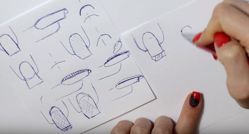 Как исправить форму ногтей?